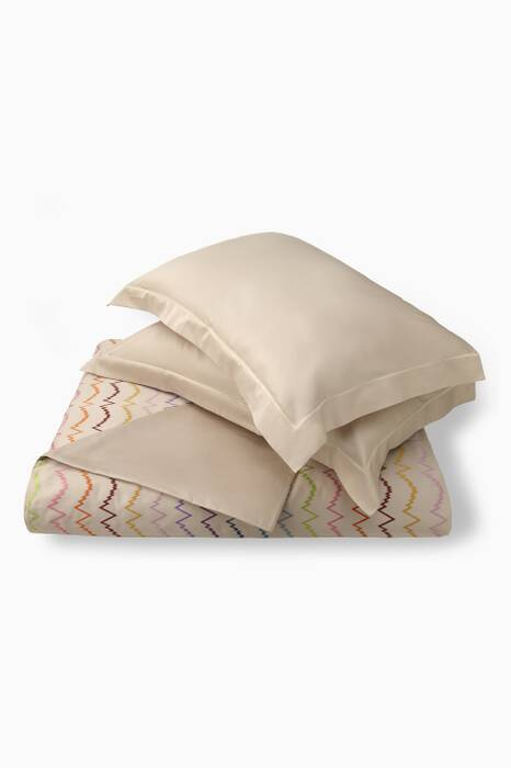 Cream Virginia 100 Duvet Set