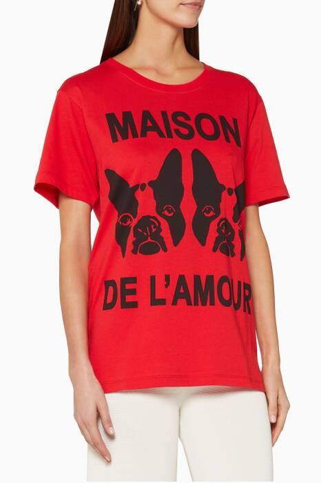 Red Maison de l'Amour T-Shirt