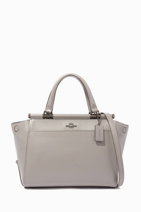 Heather-Grey Grace Tote Bag
