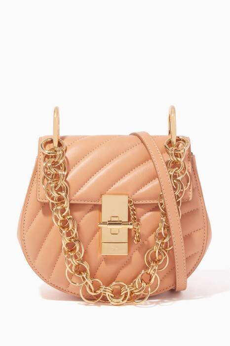 Blushy-Pink Mini Drew Bijou Shoulder Bag