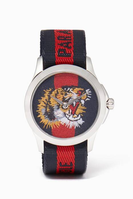 Red & Blue Tiger Le Marché des Merveilles Watch
