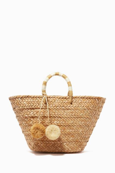 Natural St. Tropez Tote Bag