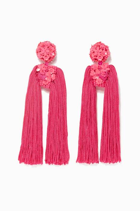Fuchsia Fleur Dupio Earrings
