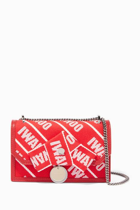 Red & Rosewater Mini Finley Tape Shoulder Bag