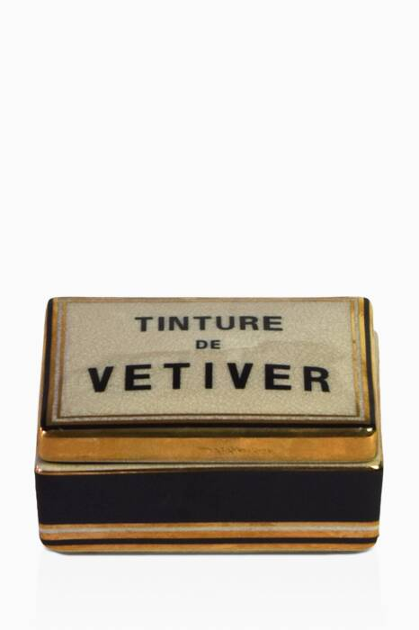 Tinture De Vetiver Small Ceramic Candle