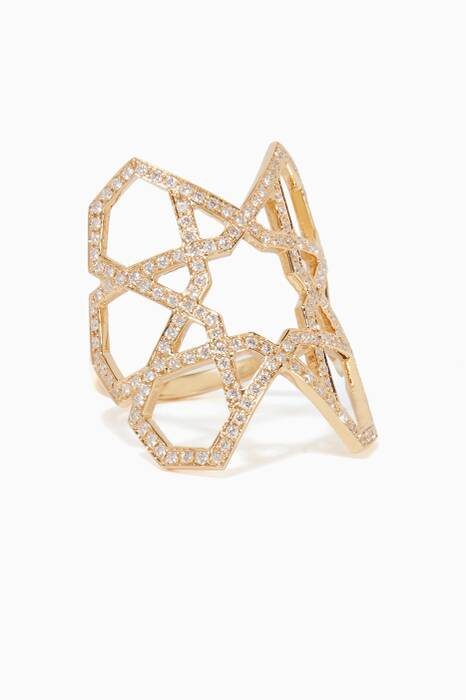 Yellow-Gold & Diamond Ring