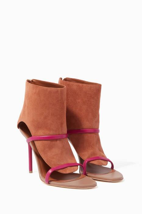 Brown Suede Miley Sandals