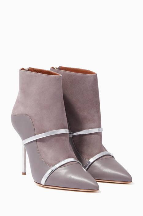 Grey Madison Ankle Boots