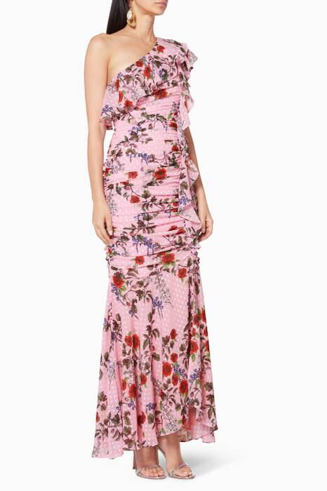 Light-Pink Need You Now Maxi Dress