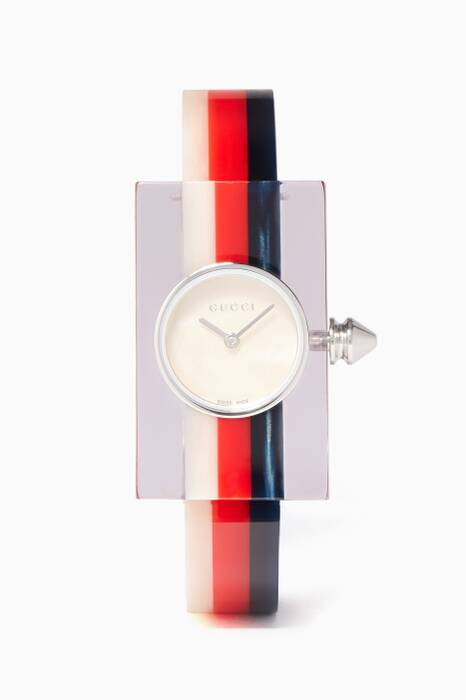 Vintage Web Plexiglas Bangle Watch
