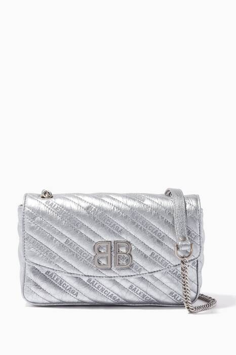Silver BB Chain Wallet