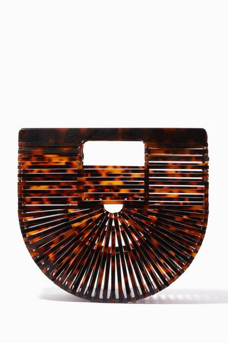 Tortoiseshell Mini Acrylic Ark Bag