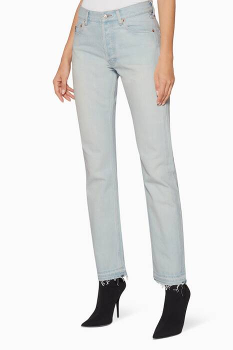 Light-Blue Standard Jeans