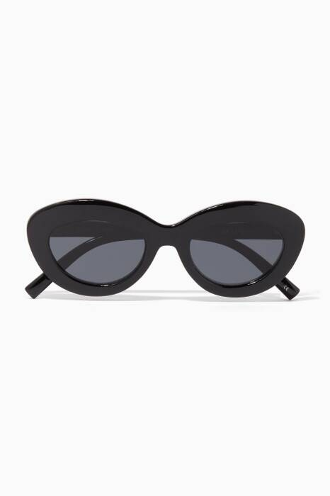 Black & Smoke Fluxus Sunglasses