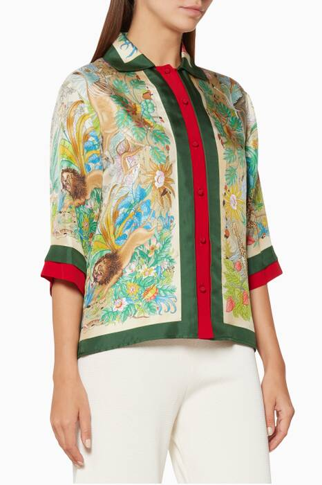 Multi-Coloured Savana Caree Shirt