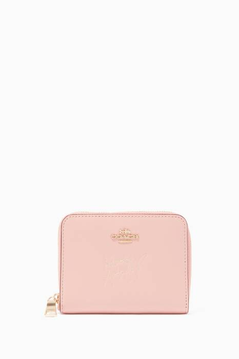 Coach X Selena Gomez Selena Small Zip-Around Wallet