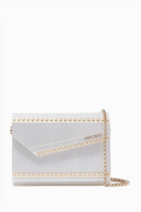 Pearlised Candy Acrylic Clutch Bag