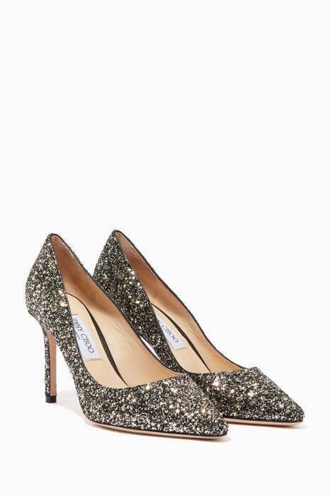 Gold Mix Star Romy 85 Pumps