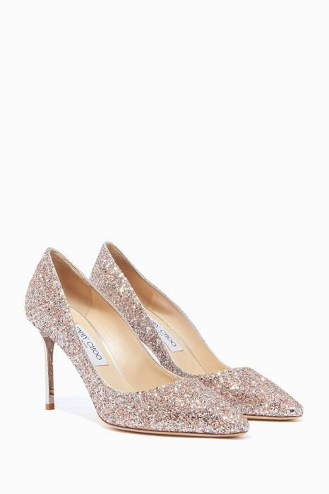 Viola Mix Romy 85 Speckled Glitter Pumps