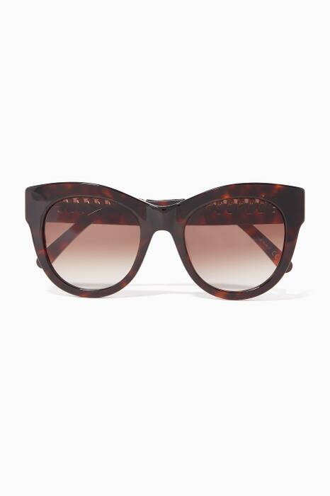 Brown Cat-Eye Falabella Sunglasses