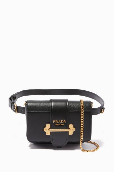 Black Cahier Belt Bag