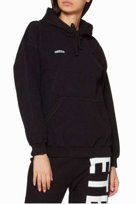 Black Inside-Out Hoodie