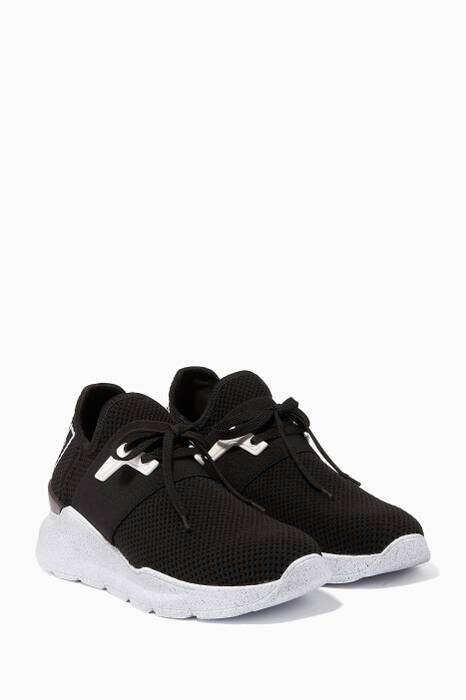 Black Running Sock Sneakers