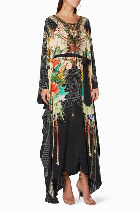 Multi-Coloured Queen Of Kings Kaftan