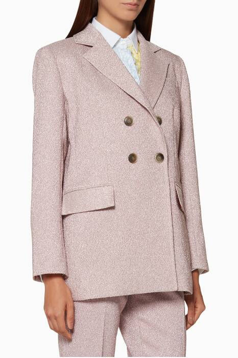 Light-Pink Lurex Blazer