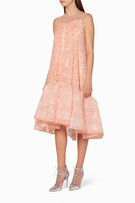 Pink Embellished Jodie Dress