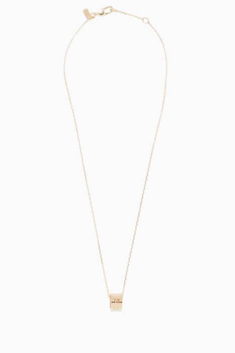 Yellow-Gold Icon Twirl Pendant Necklace