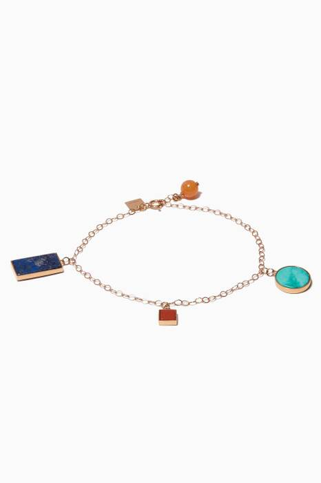 Rose-Gold Ever Charm Bracelet