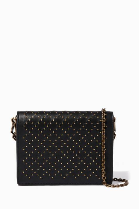 Black Catena Chain Wallet