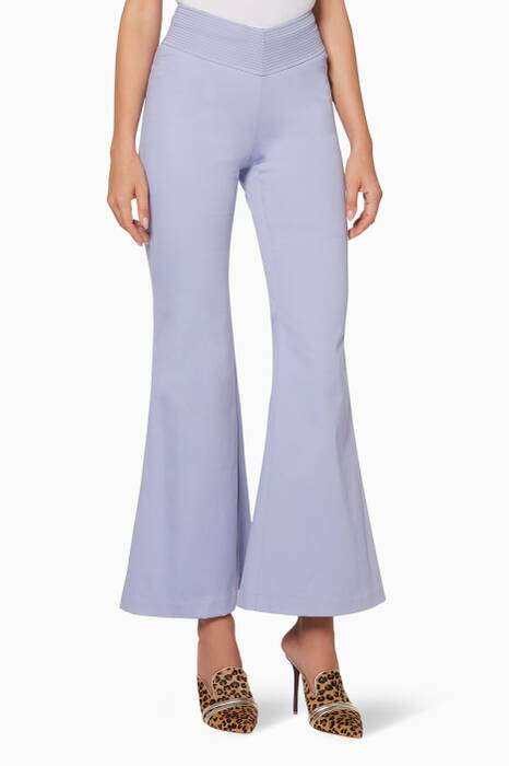 Lilac Flared Cher Pants
