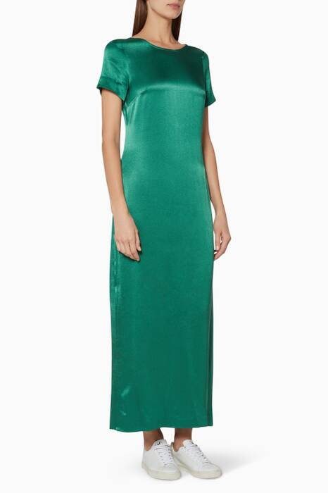 Emerald-Green Halliwell Maxi Dress