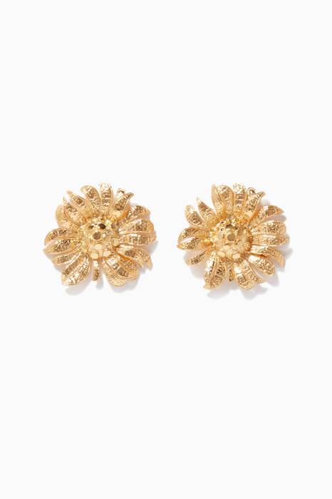 Gold Rene Earrings