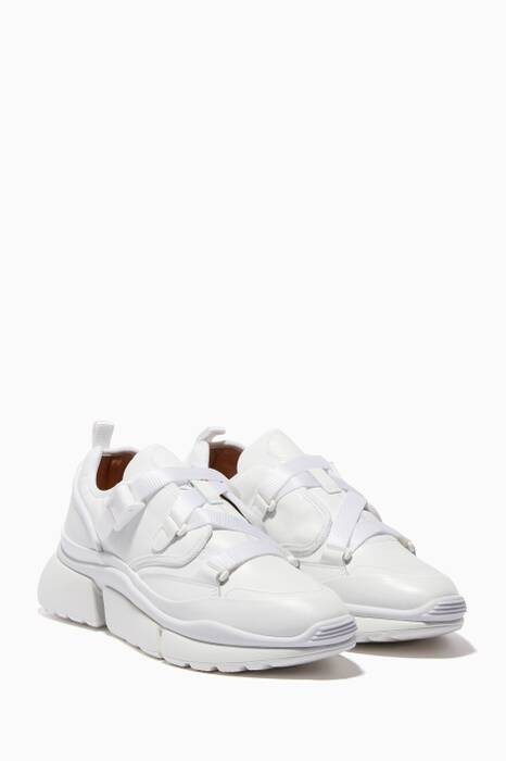 White Chunky Sonnie Sneakers