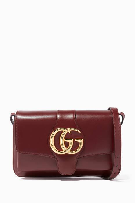 Burgundy Arli Small Shoulder Bag