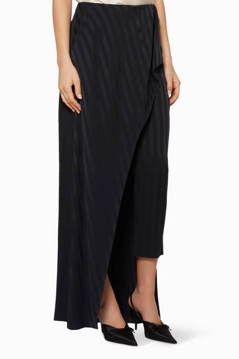Midnight Sandstorm Skirt Overlay Pants