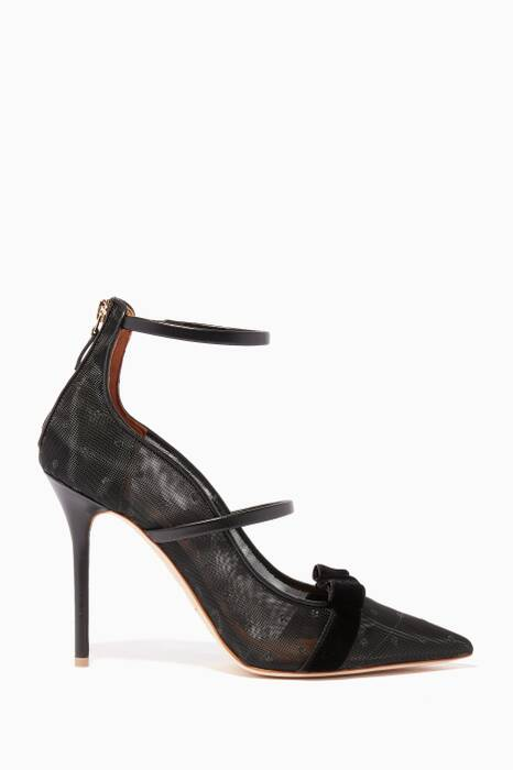 Black Monica Luwolt 100 Pumps
