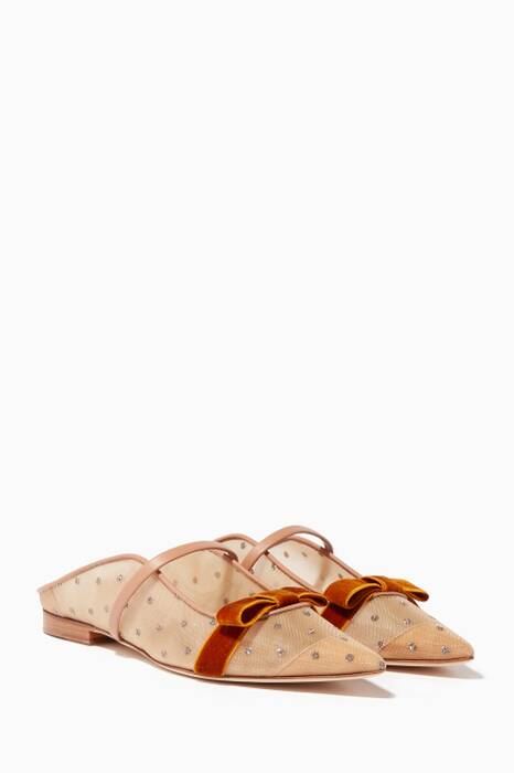 Nude & Gold  Marguerite Luwolt Mules