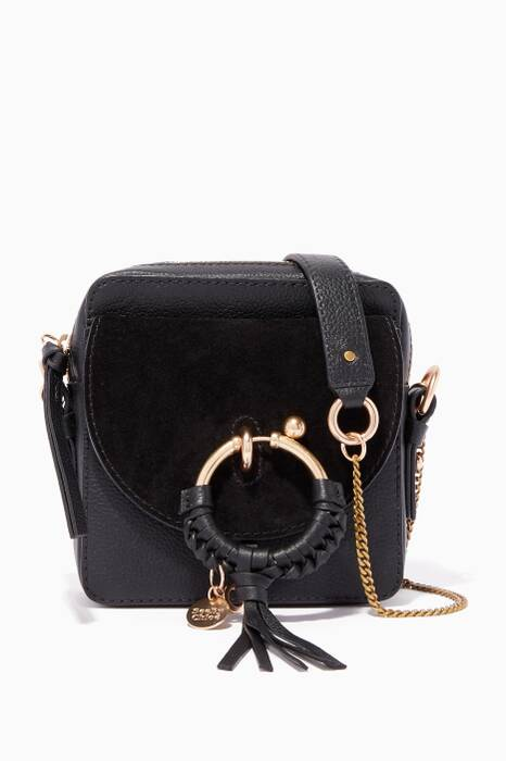 Black Hana Cross-Body Bag