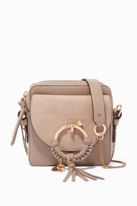 Motty-Grey Hana Cross-Body Bag