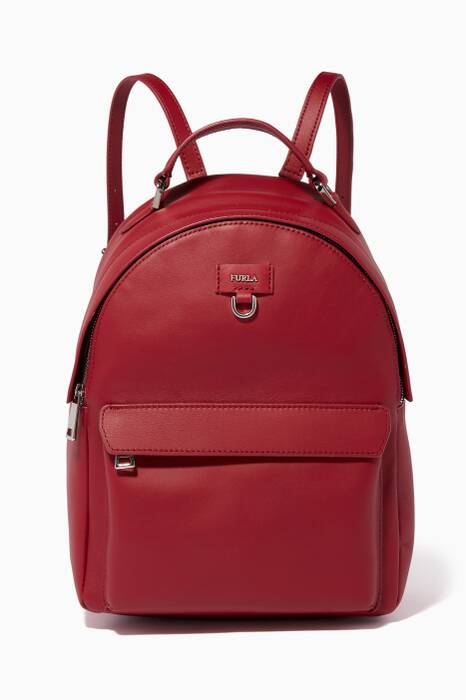 Ciliegia Favola Leather Backpack