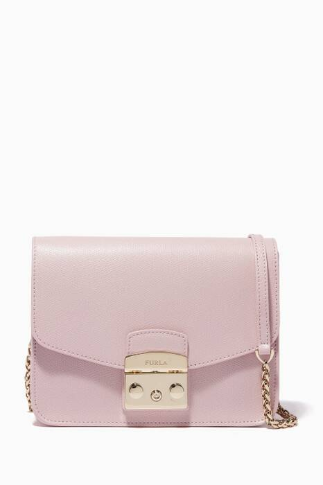 Camelia-Pink Metropolis Cross-Body Bag