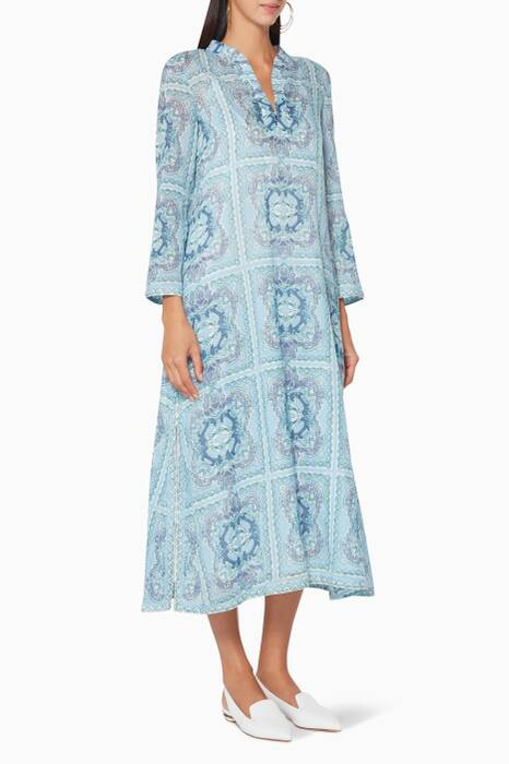 Light-Blue Glada Aretusa Kaftan