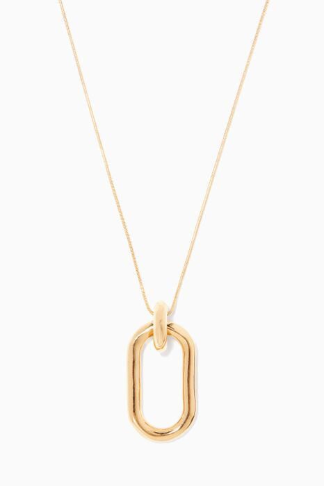 Gold Beaumont Pendant