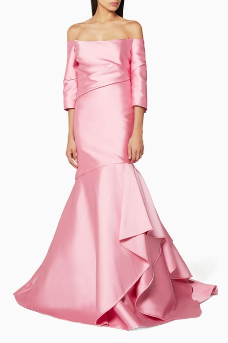 Light Pastel-Pink Gown