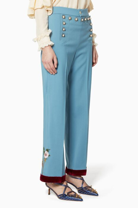 Light-Blue Sailor Pants