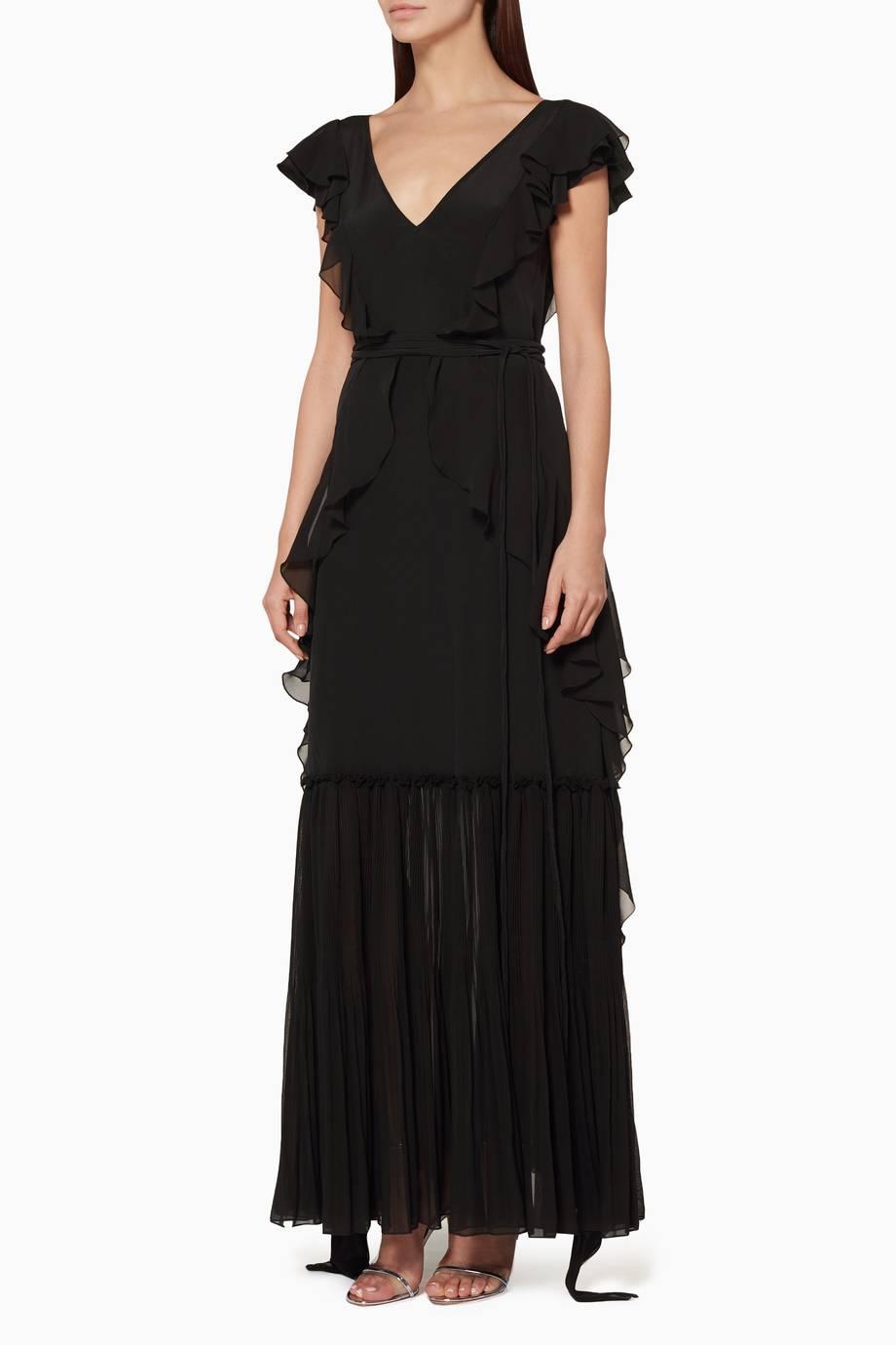 991e13aa39007 تسوق فستان ساند كشكش أسود من ان ذا مود فور لوف